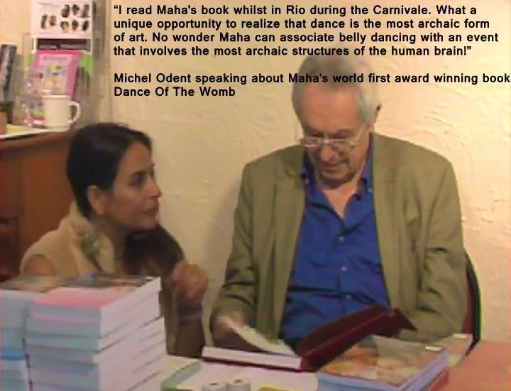 Michel Odent & Maha