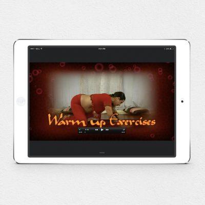 Warmups screenshot on iPad