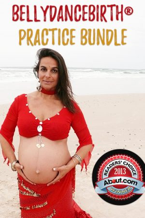 BellydanceBirth® Practice Bundle - Gentle Prenatal Dance Exercises by Maha Al Musa
