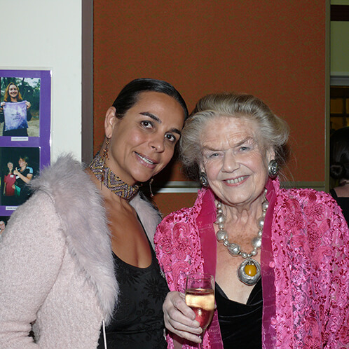 Maha with Sheila Kitzinger (Childbirth Activist, Author and Anthropologist)