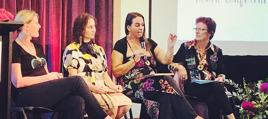 Melbourne Doula Conference 2018 - Maha speaking in panel discussion